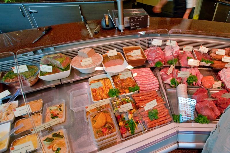 Магазин мяса в Украине